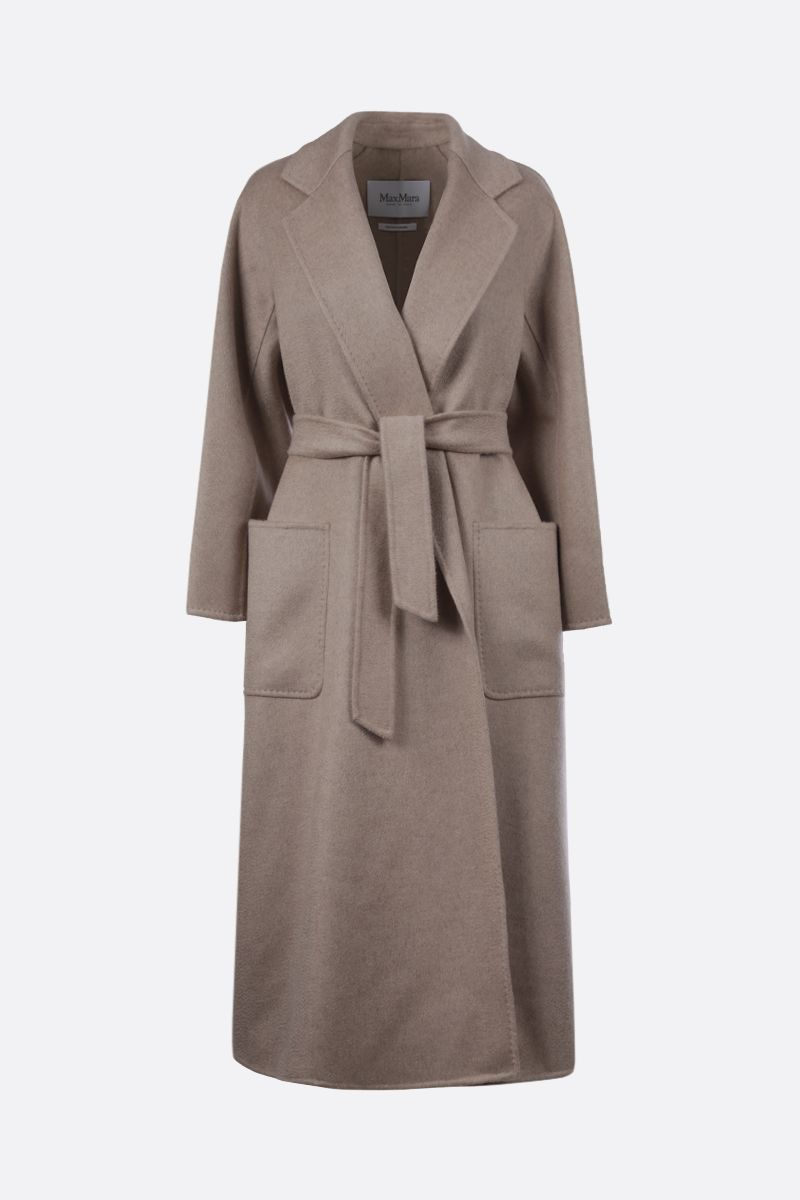 MAX MARA: Labbro cashmere wrap coat Color Neutral_1
