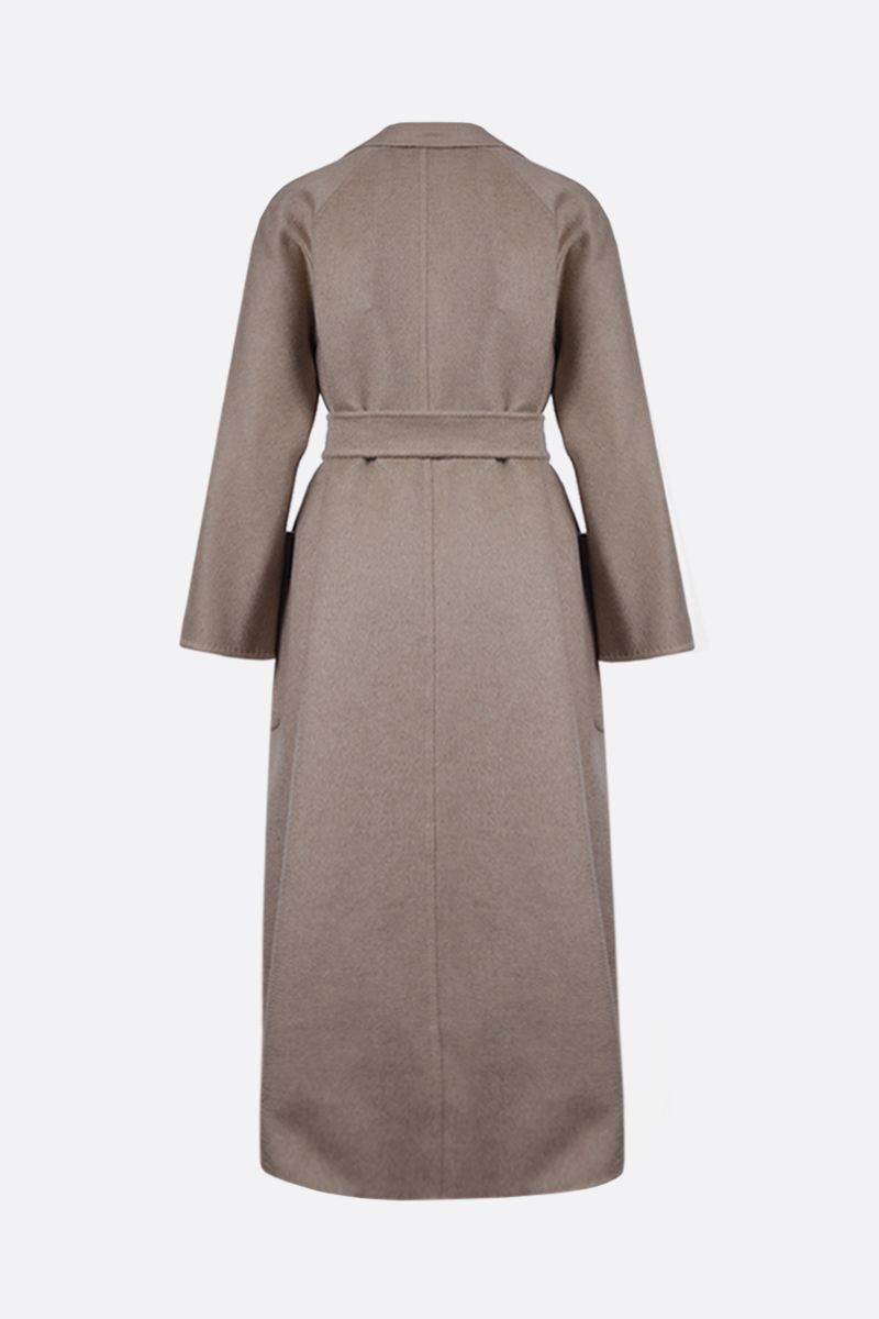 MAX MARA: Labbro cashmere wrap coat Color Neutral_2