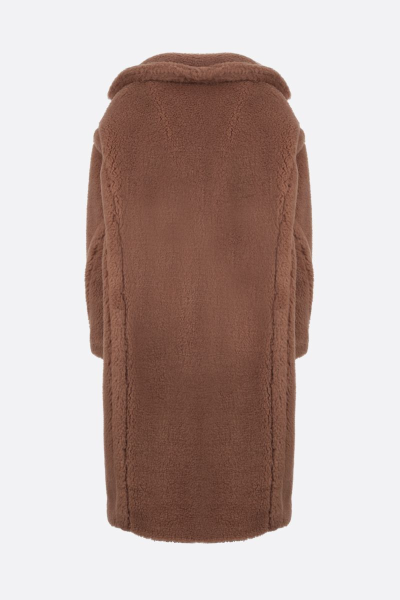 MAX MARA: Teddy camel double-breasted coat Color Neutral_2