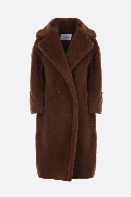 MAX MARA: Tedgirl faux fur coat Color Brown_1