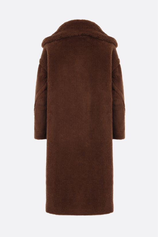 MAX MARA: Tedgirl faux fur coat Color Brown_2