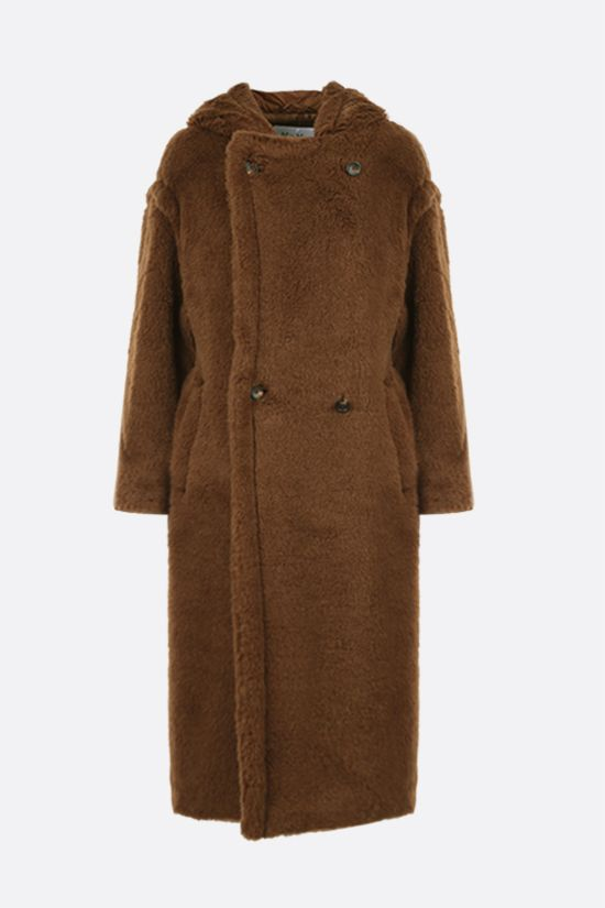 MAX MARA: Teddy12 faux fur coat_1