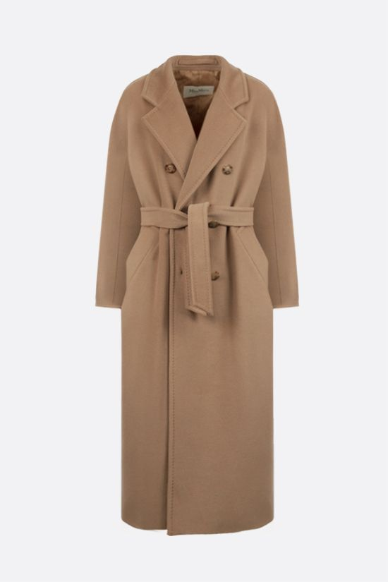 MAX MARA: 3Madame double-breasted wool cashmere coat Color Neutral_1
