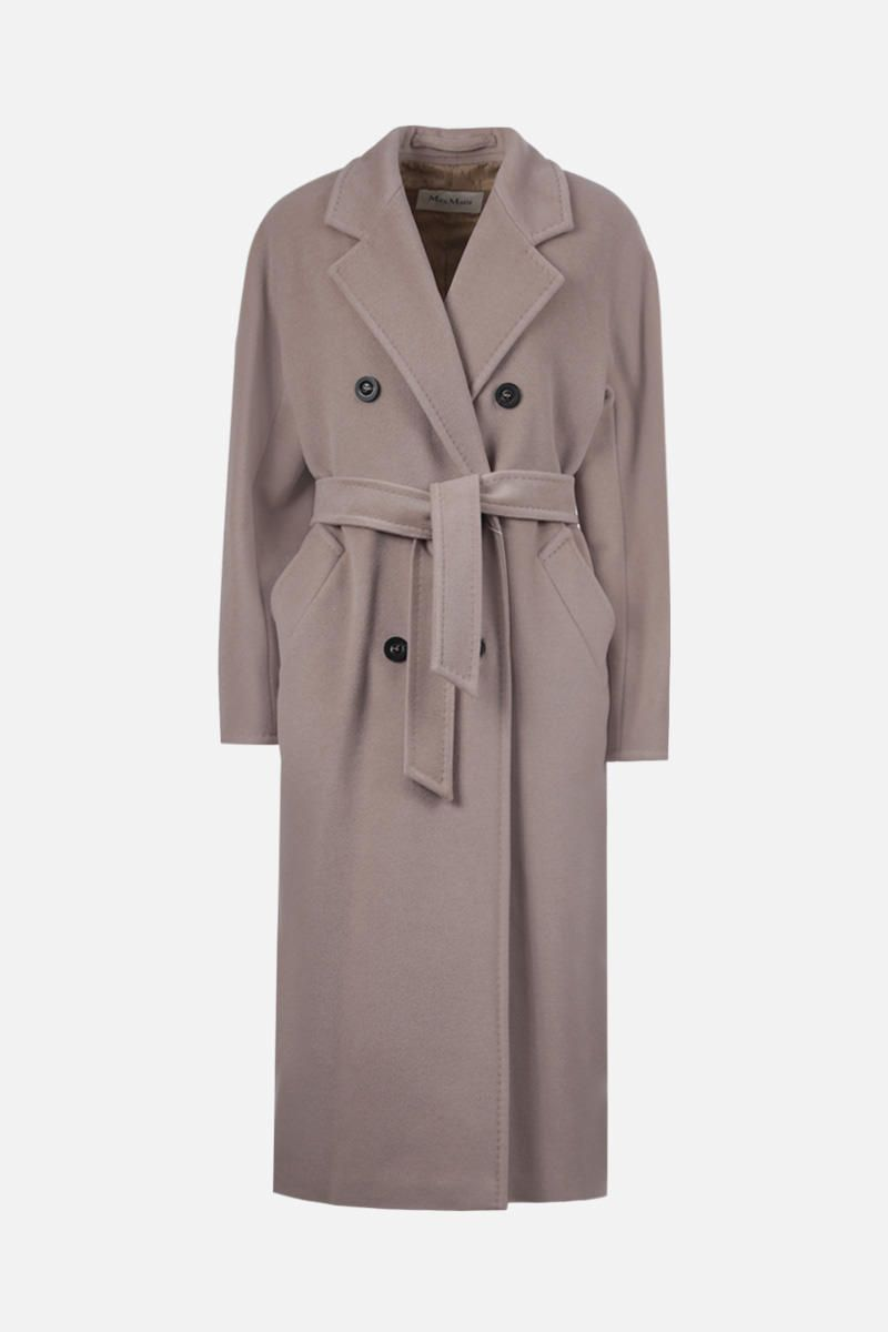 MAX MARA: Madame wool cashmere blend double-breasted coat Color Neutral_1