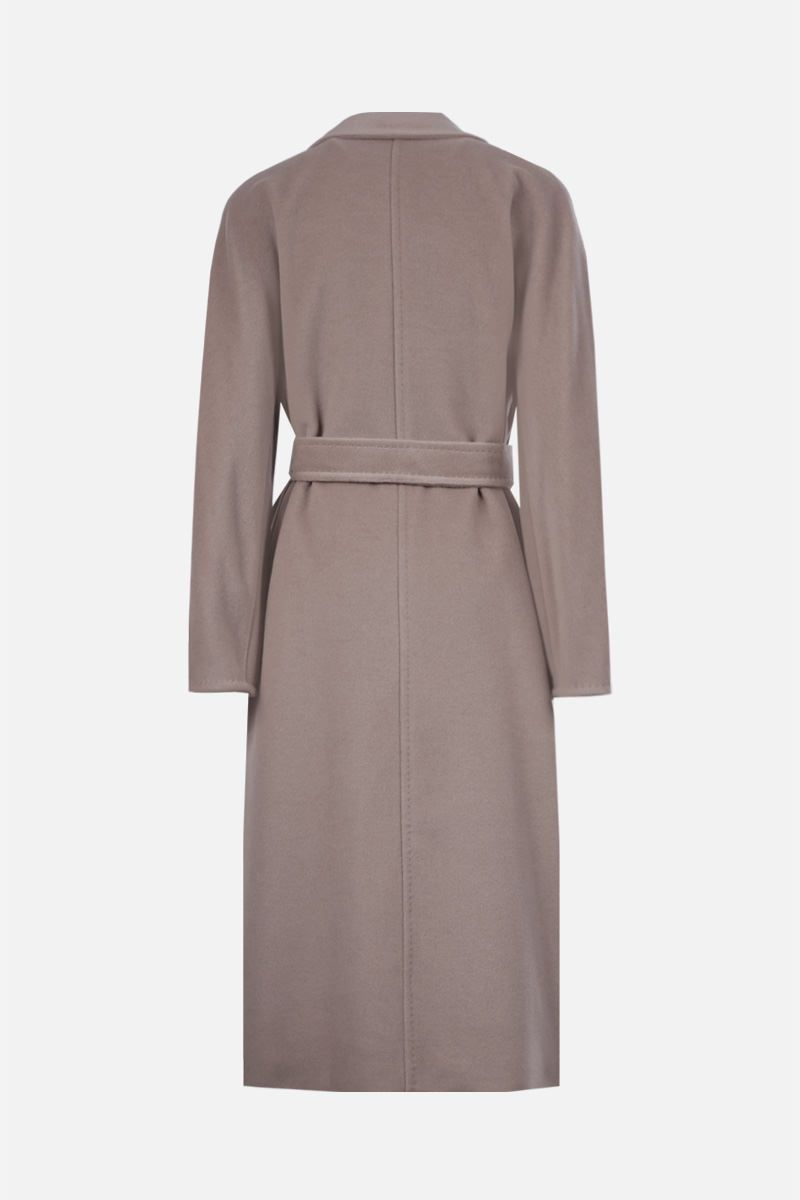 MAX MARA: Madame wool cashmere blend double-breasted coat Color Neutral_2