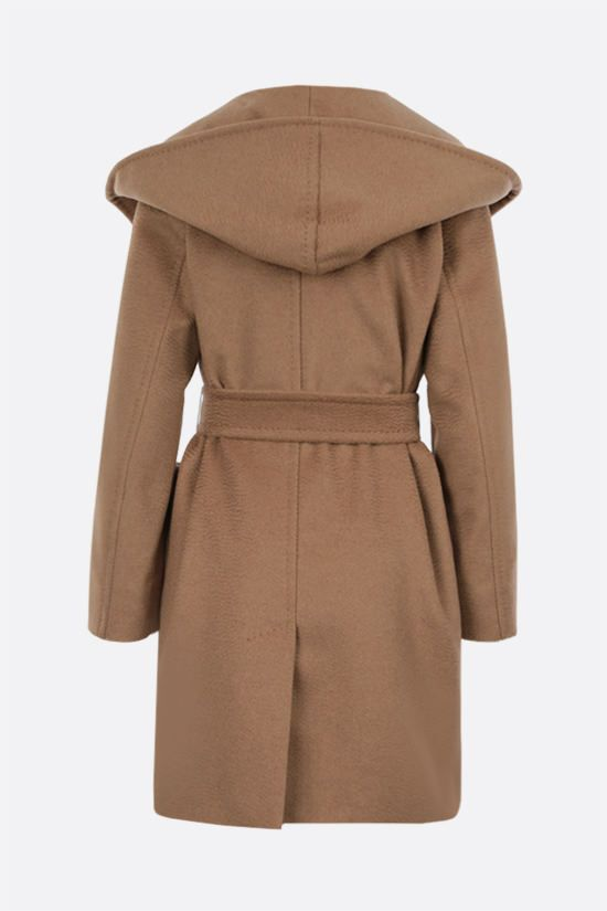 MAX MARA: 3Rialto camel wrap coat Color Neutral_2