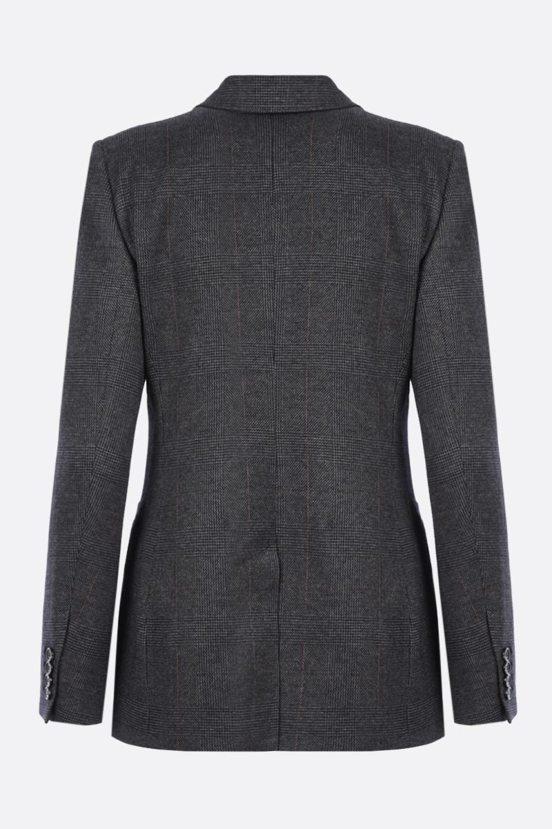 MAX MARA: Sfinge single-breasted prince of Wales jersey jacket_2