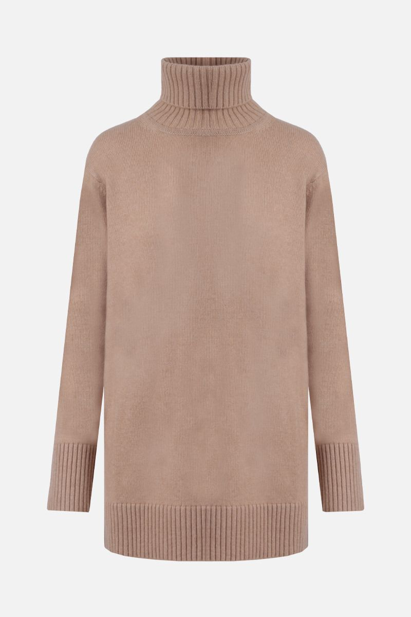 MAX MARA: Nastro wool cashmere blend turtleneck Color Neutral_1