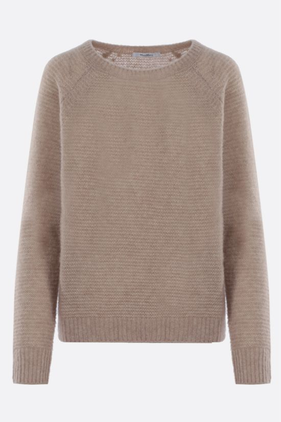 MAX MARA: Satrapo cashmere silk blend pullover Color Neutral_1