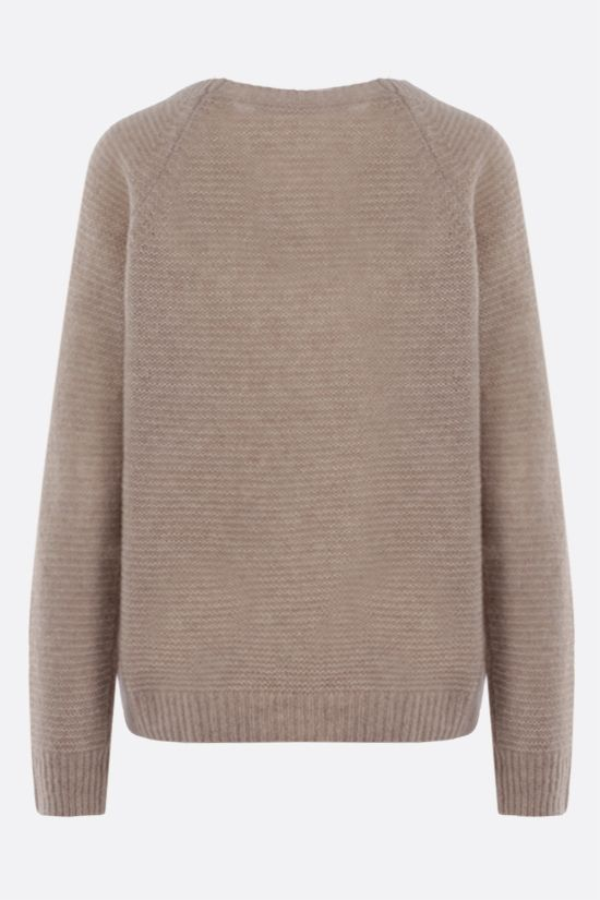 MAX MARA: Satrapo cashmere silk blend pullover Color Neutral_2