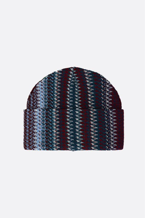 MISSONI: wool blend knit beanie Color Multicolor_1