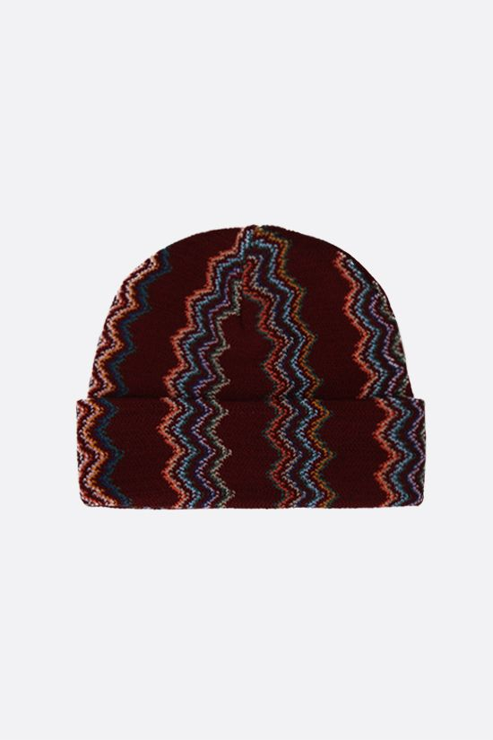 MISSONI: wool knit beanie Color Multicolor_1