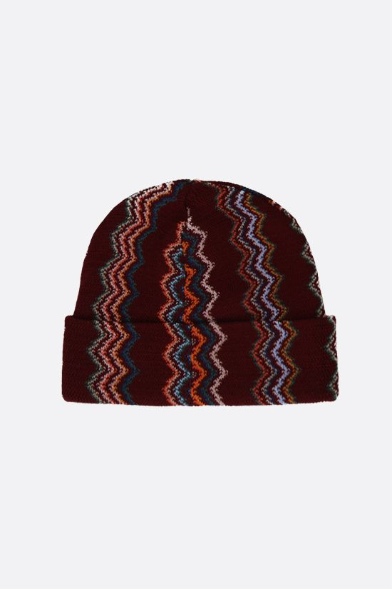 MISSONI: wool knit beanie Color Multicolor_2