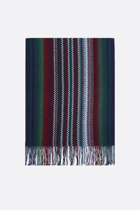 MISSONI: wool blend knit scarf Color Multicolor_1