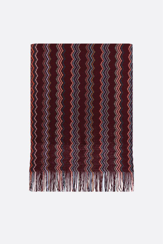 MISSONI: wool knit scarf Color Multicolor_1