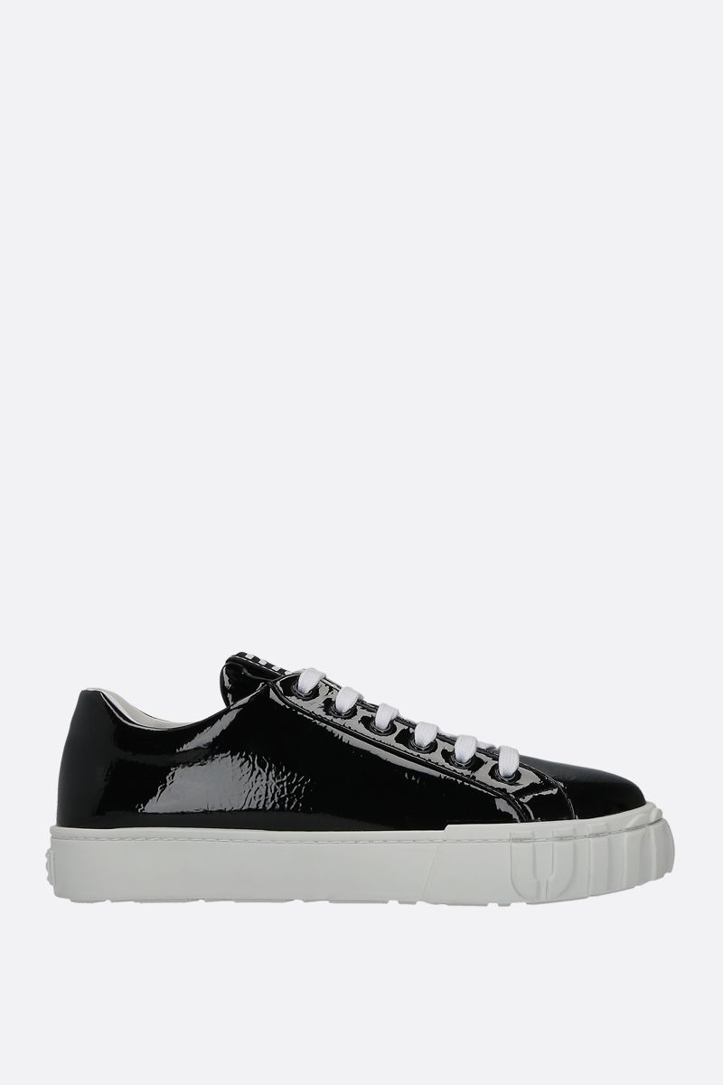 MIU MIU: naplak low-top sneakers Color Black_1