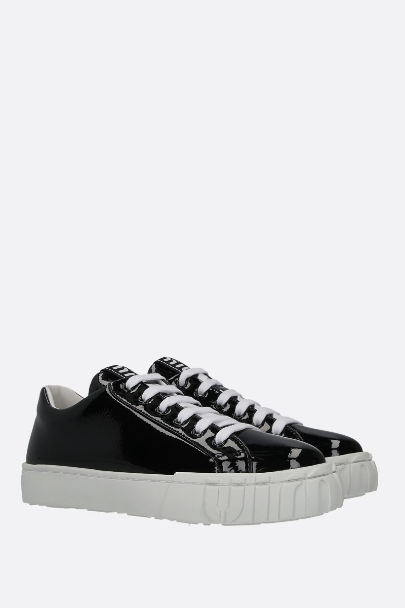 MIU MIU: naplak low-top sneakers Color Black_2