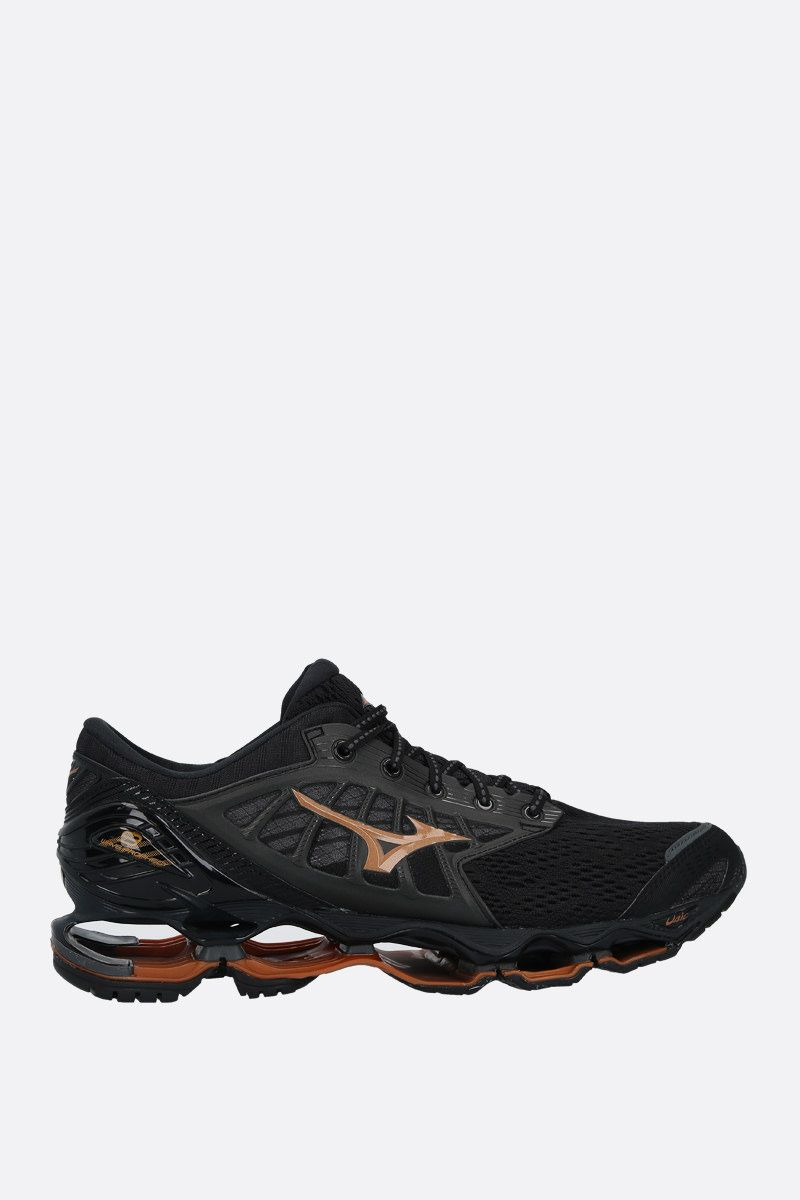 MIZUNO: Wave Prophecy 9 mesh sneakers Color Black_1