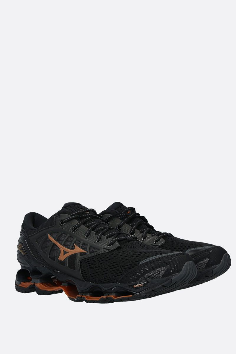 MIZUNO: Wave Prophecy 9 mesh sneakers Color Black_2