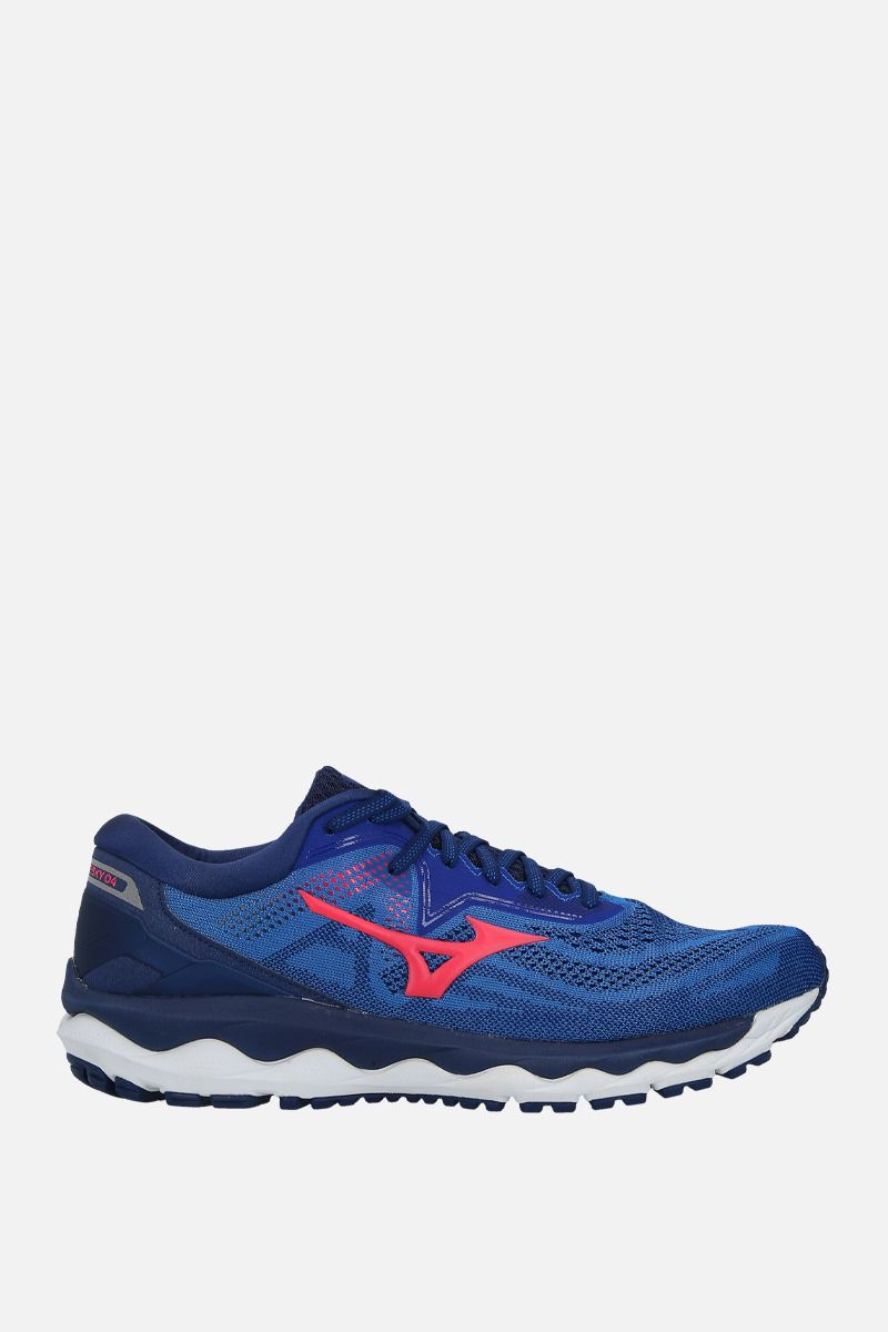 MIZUNO: Wave Sky 4 mesh sneakers Color Multicolor_1