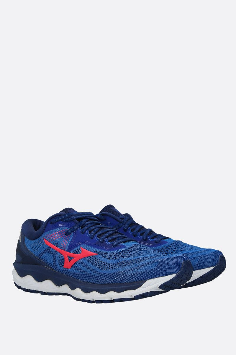 MIZUNO: Wave Sky 4 mesh sneakers Color Multicolor_2