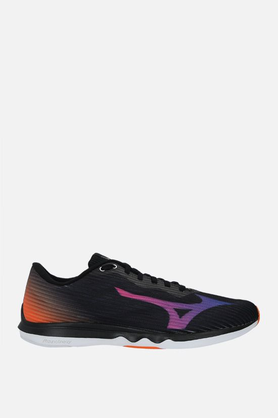 MIZUNO: Wave Shadow 4 mesh sneakers Color Black_1
