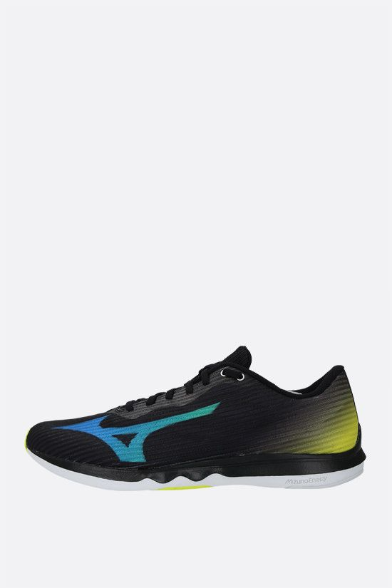 MIZUNO: Wave Shadow 4 mesh sneakers Color Black_2