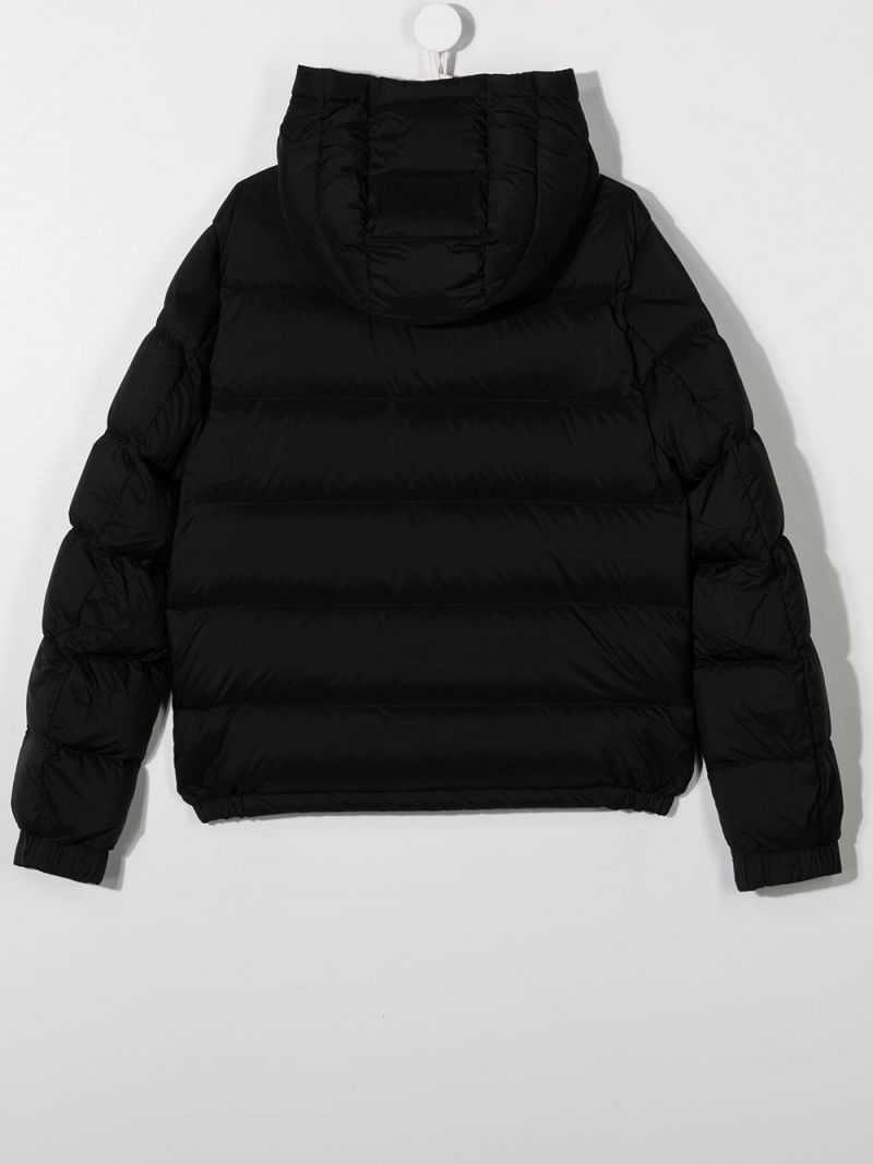 MONCLER KIDS: Sorue nylon down jacket Color Black_2