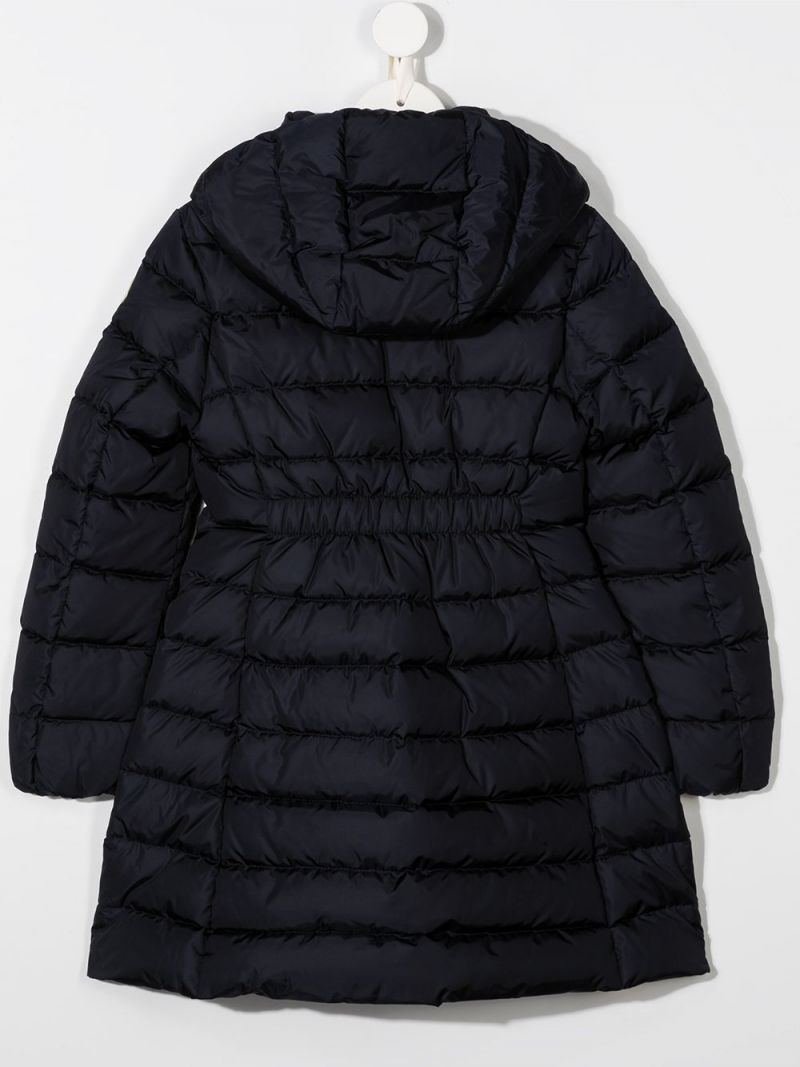 MONCLER KIDS: Charpal nylon down jacket Color Blue_2