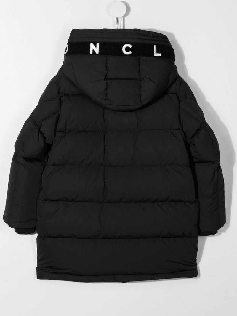 MONCLER KIDS: Cestro nylon down jacket Color Black_2
