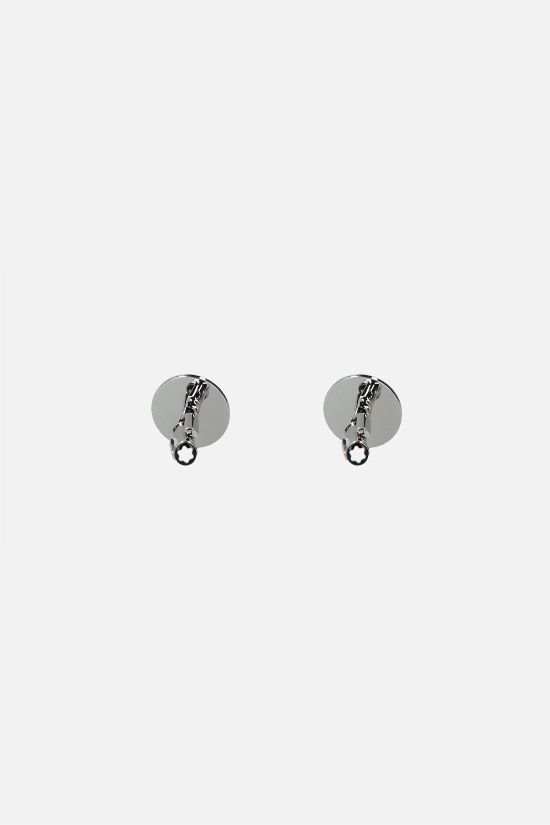 MONTBLANC: PVD dots pattern steel cufflinks Color Black_2