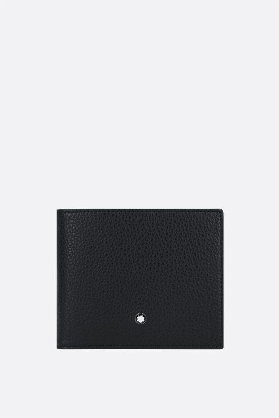 MONTBLANC: Meisterstück grainy leather wallet Color Black_1