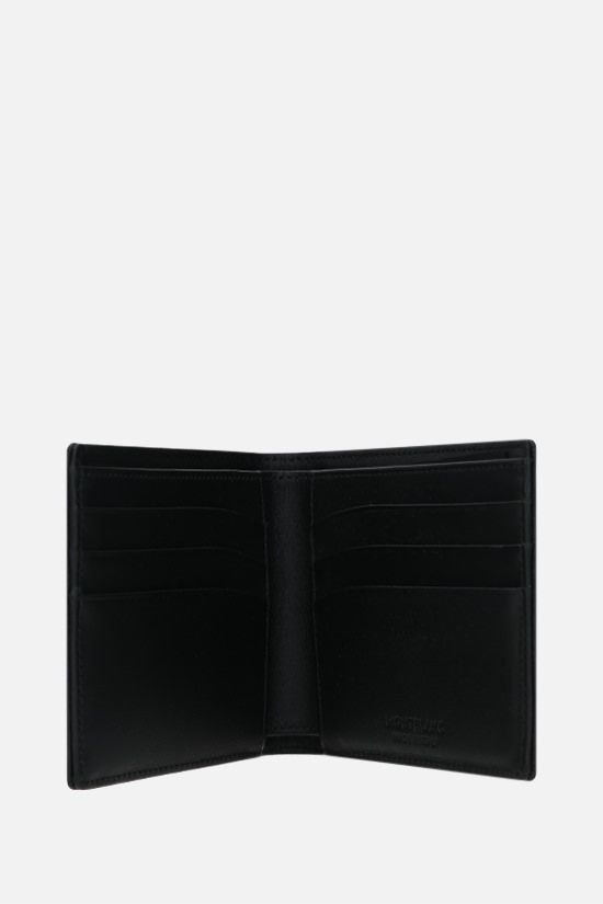 MONTBLANC: Meisterstück grainy leather wallet Color Black_2