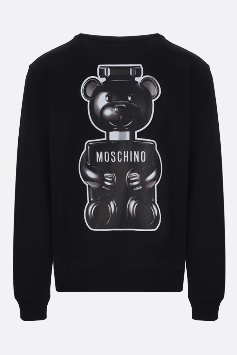 MOSCHINO: Toy Boy print cotton sweatshirt Color Black_2