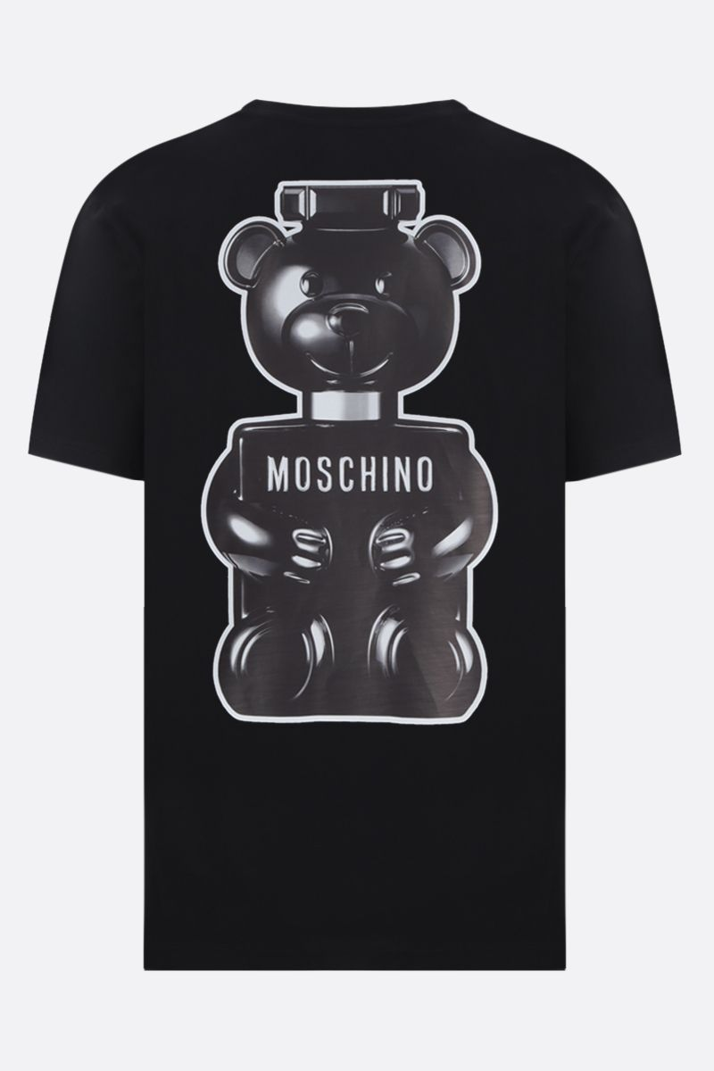 MOSCHINO: t-shirt in cotone stampa Toy Boy Colore Nero_2