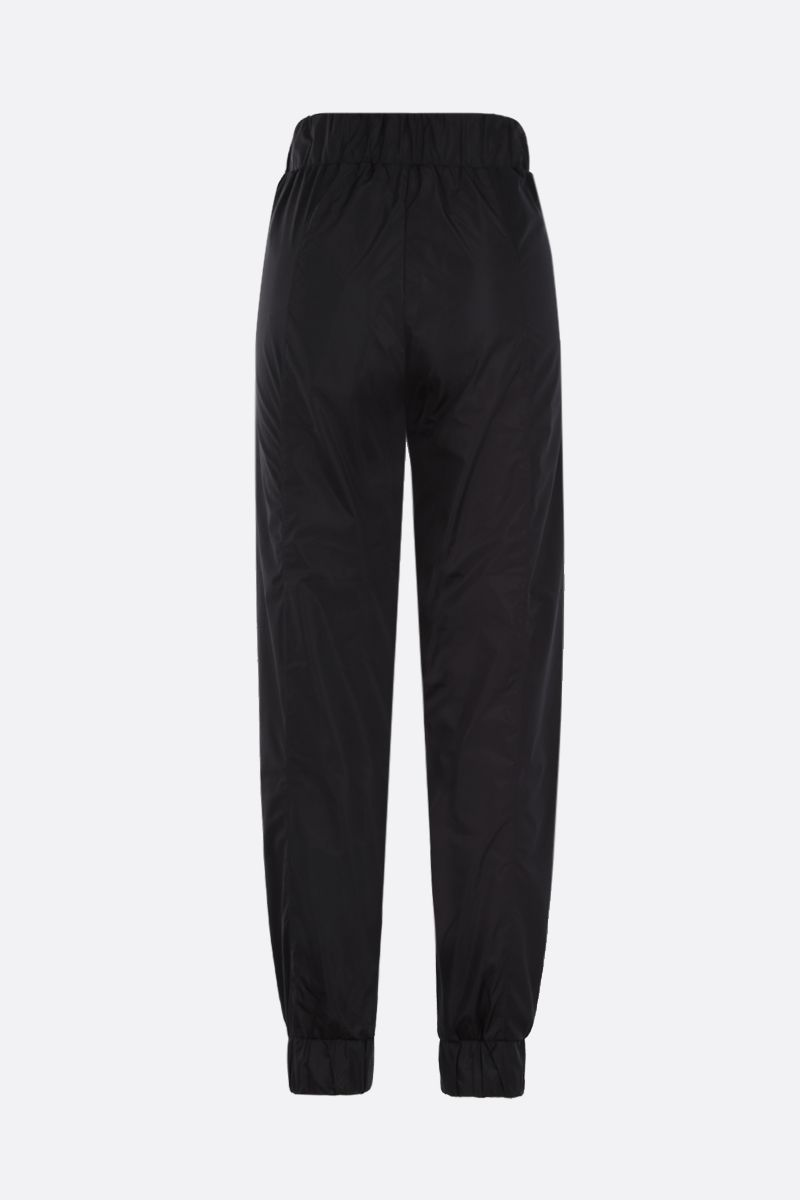 NO KA'OI: Horizon nylon joggers Color Black_2