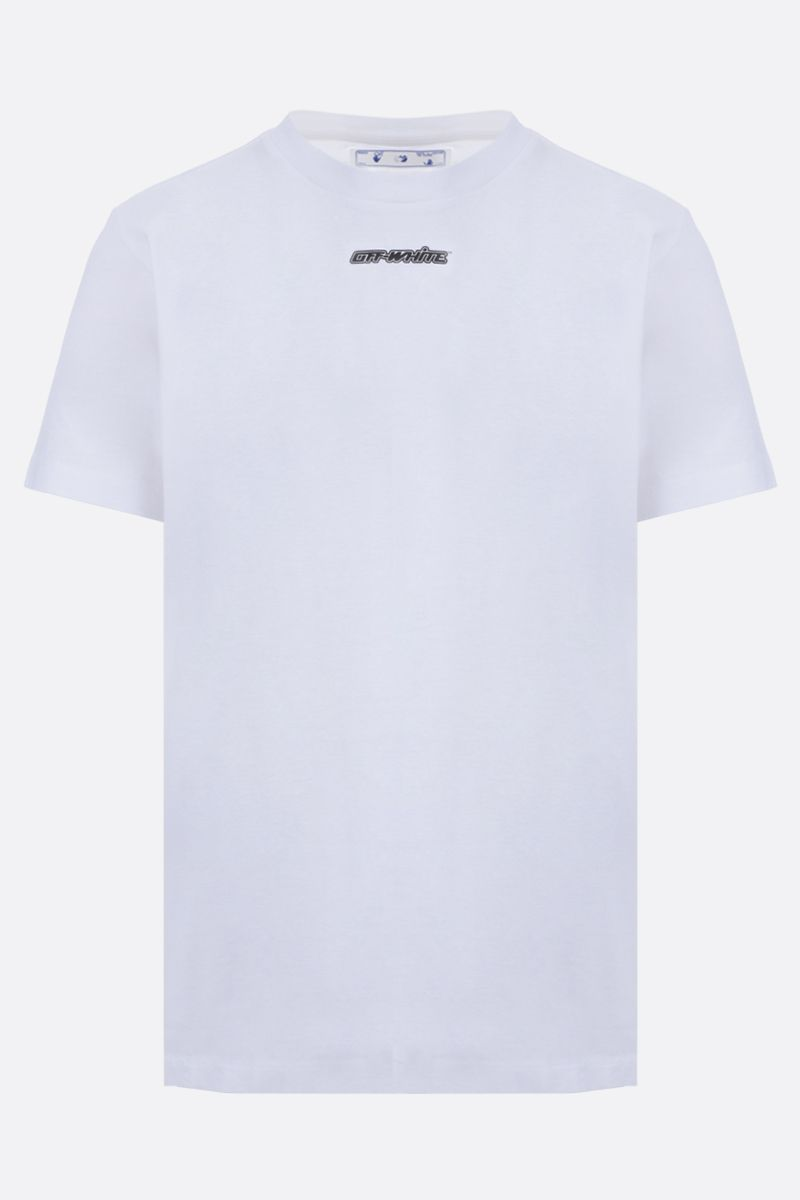 OFF WHITE: t-shirt Marker in cotone_1