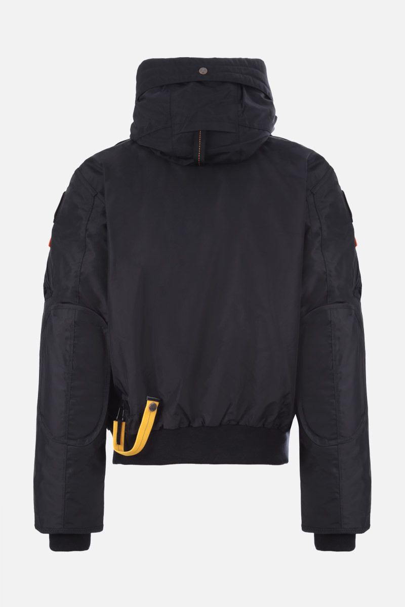PARAJUMPERS: Gobi nylon down jacket Color Black_2