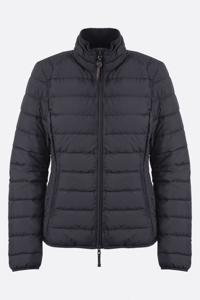 PARAJUMPERS: Geena nylon lightweight down jacket Color Black_1