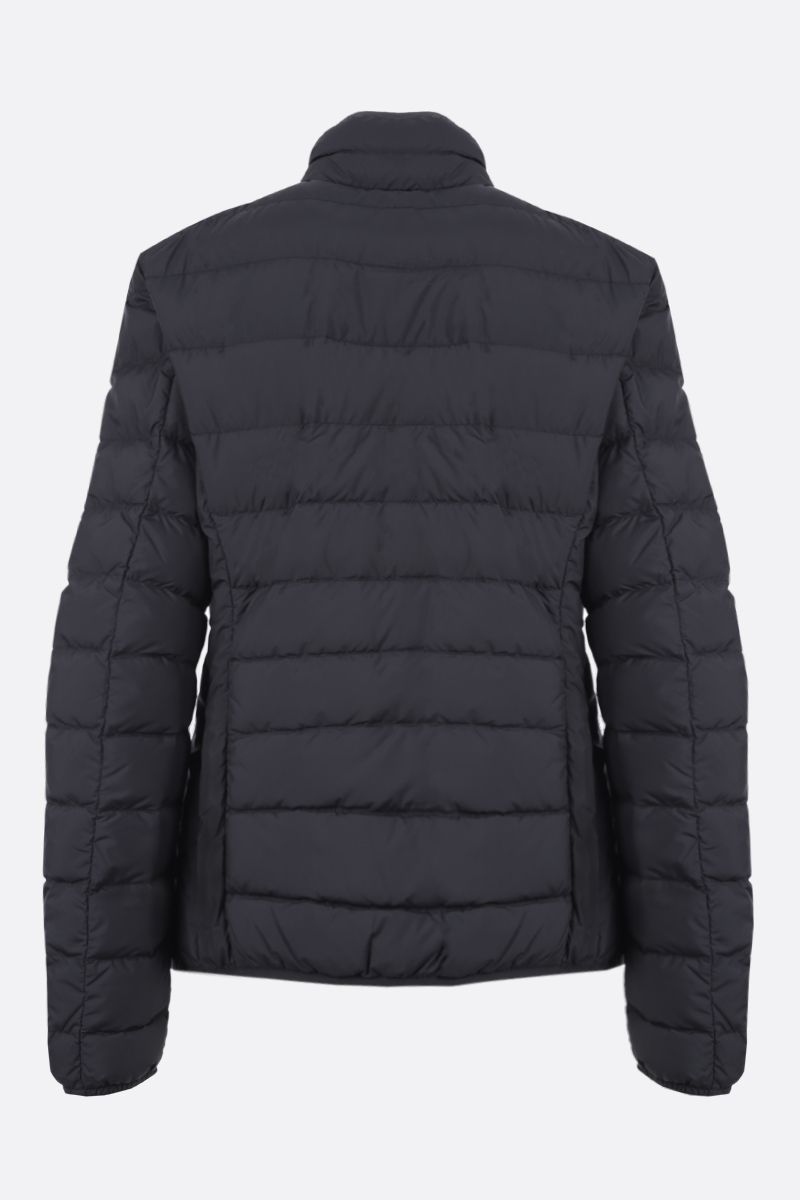 PARAJUMPERS: Geena nylon lightweight down jacket Color Black_2
