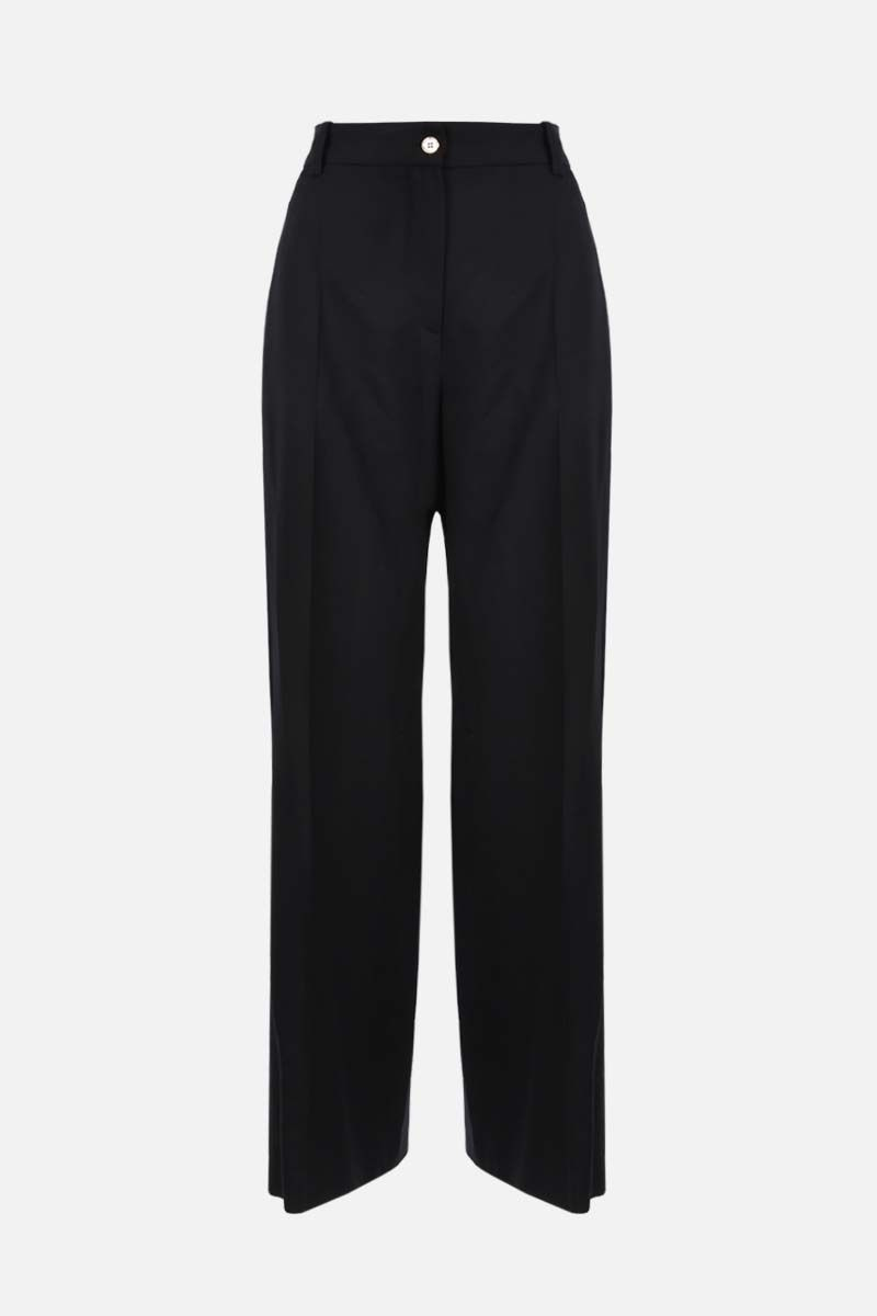 PATOU: straight-fit wool pants Color Black_1