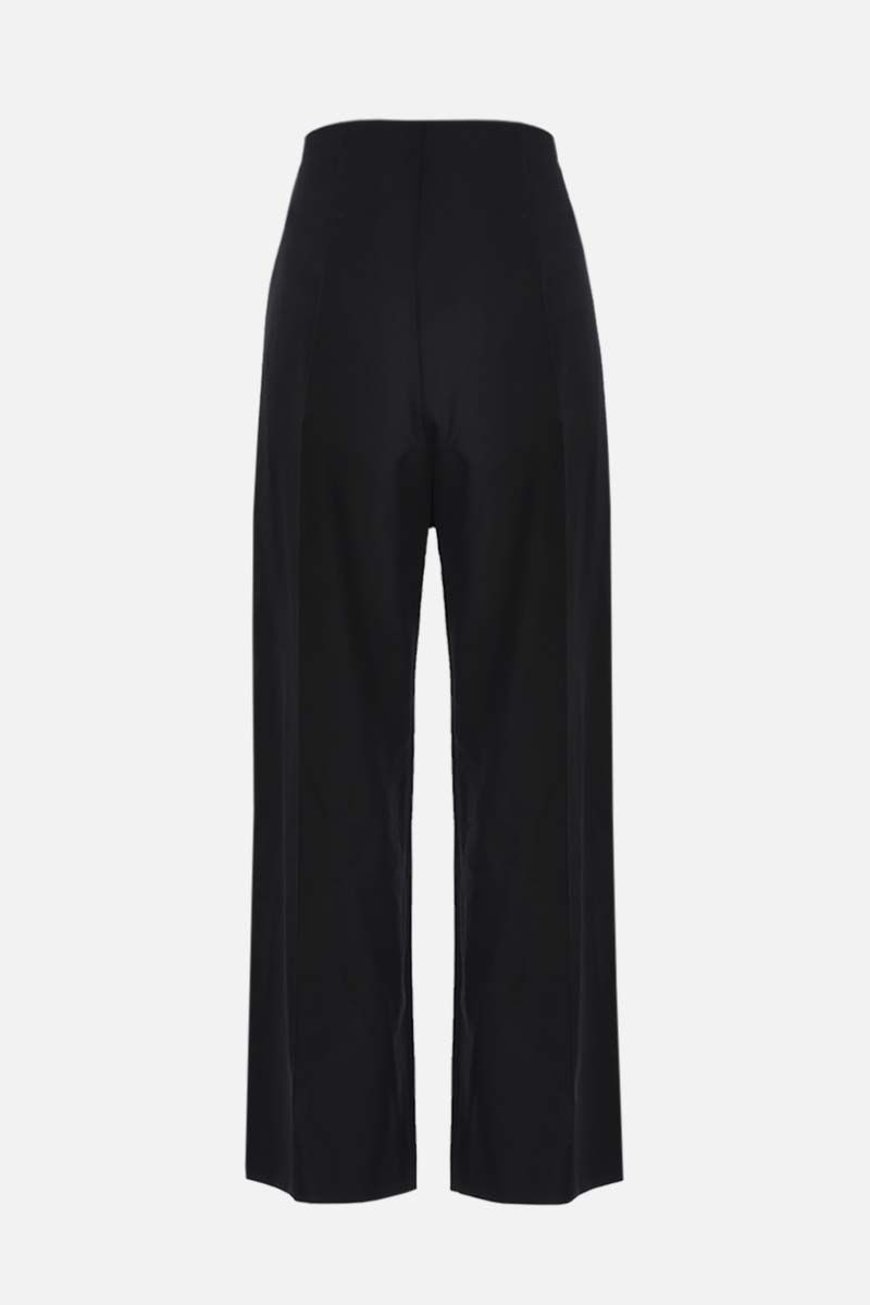 PATOU: straight-fit wool pants Color Black_2