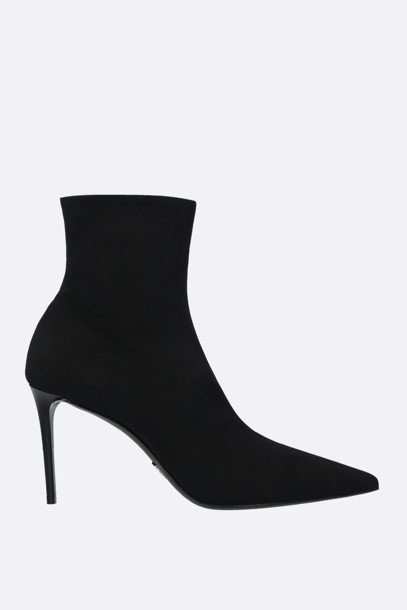 PRADA: stretch technical fabric ankle boots Color Black_1