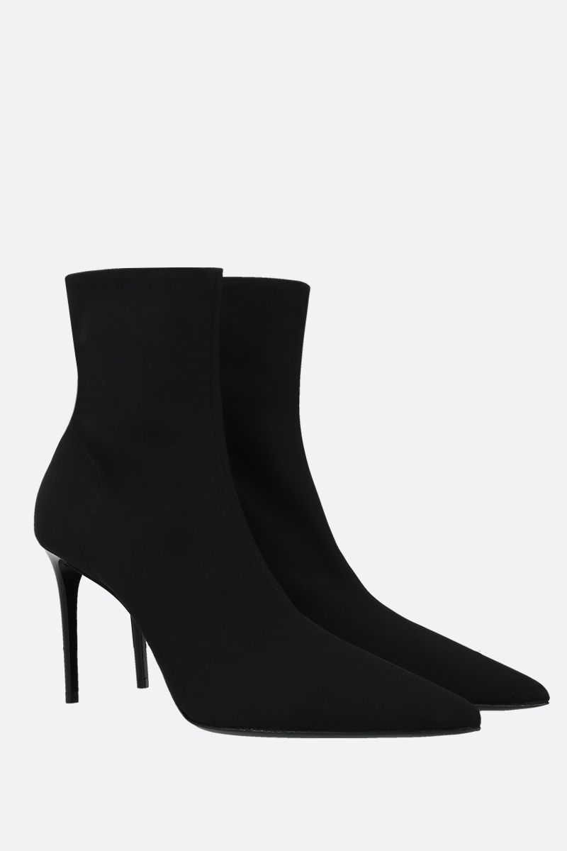 PRADA: stretch technical fabric ankle boots Color Black_2