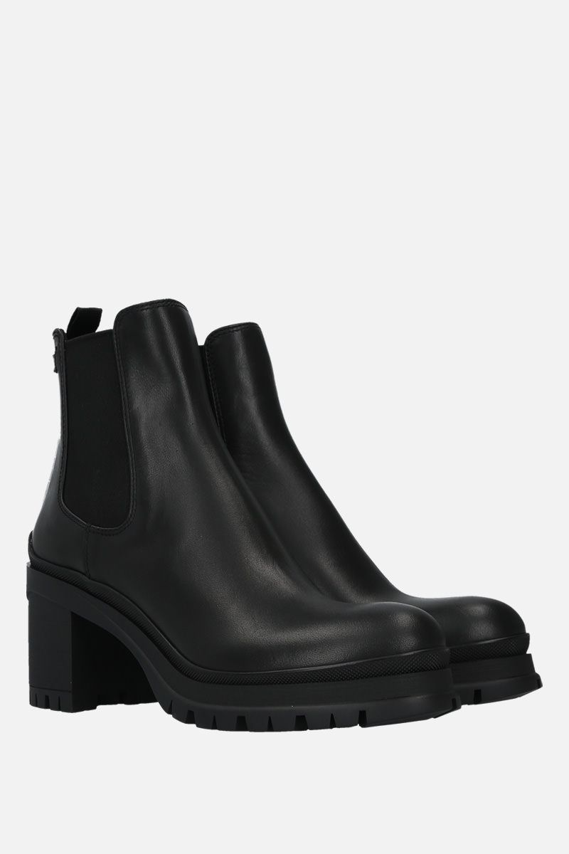 PRADA: Montana leather ankle boots Color Black_2