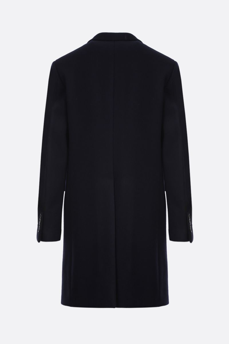 PRADA: wool single-breasted coat Color Blue_2