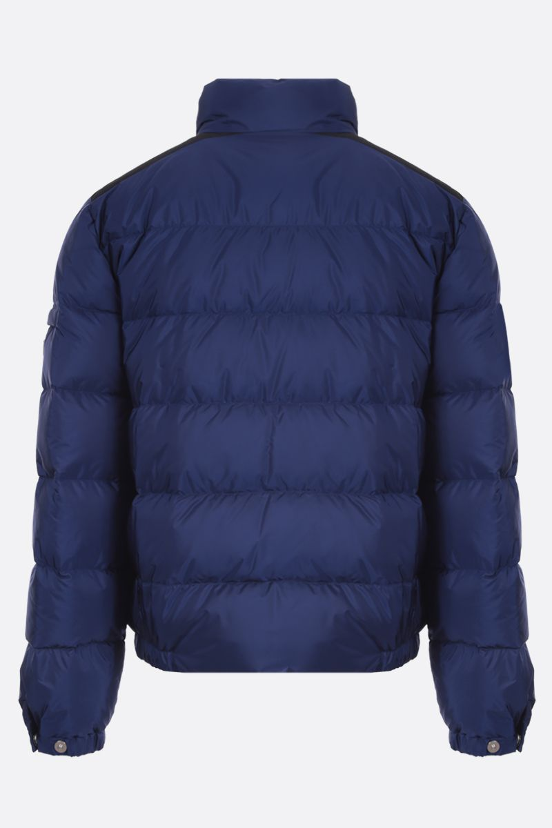 PRADA: logo-detailed recycled nylon down jacket_2