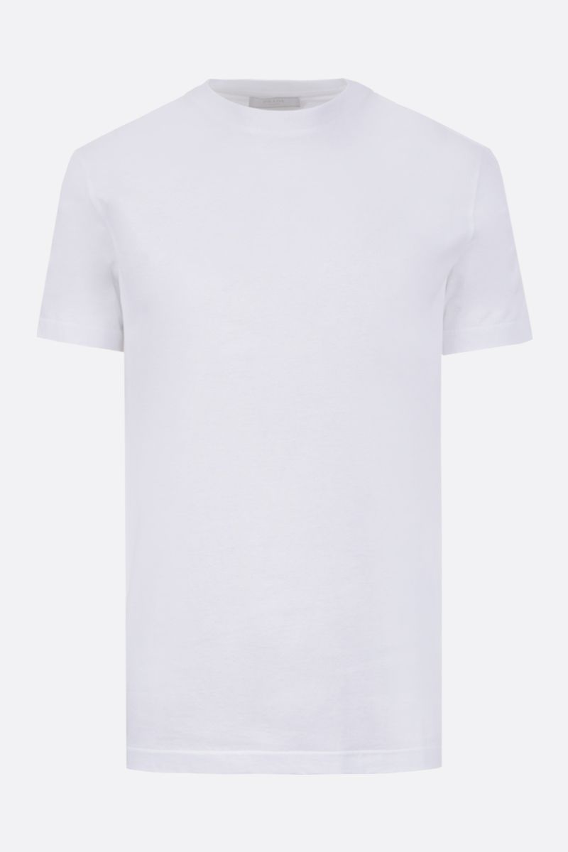 PRADA: 3 pack cotton t-shirt Color White_2
