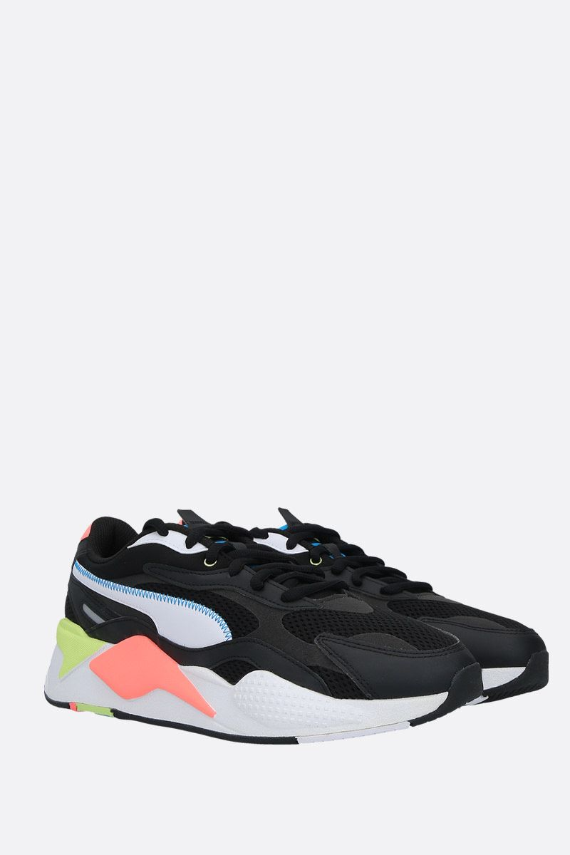 PUMA: sneaker RS-X3 Millenium in un mix di materiali Colore Multicolore_2