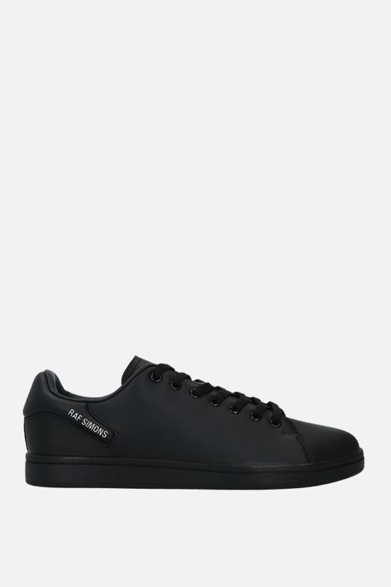 RAF SIMONS: Orion faux leather sneakers Color Black_1